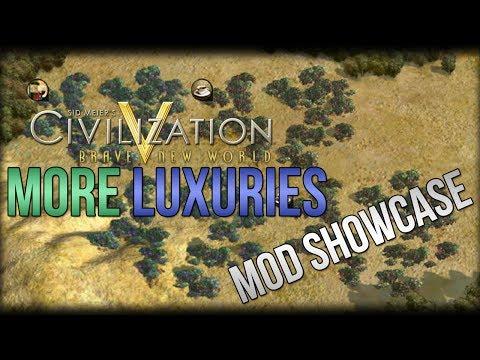 Civilization 5 Mod Showcase - More Luxuries