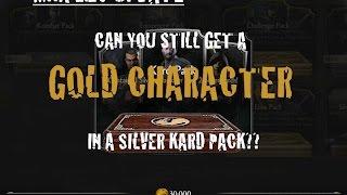 Mortal Kombat X Gold Card in Silver Pack!! - PakVim net HD