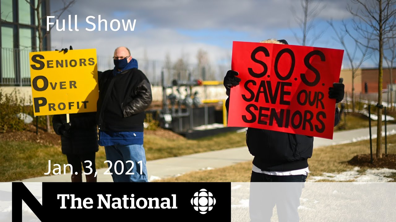 CBC News: The National   Ontario long-term care homes in crisis   Jan. 3, 2021