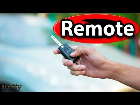 How to Replace a Remote Key Fob for Your Car