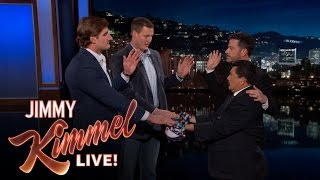 Jimmy Swears in Chargers Philip Rivers and Joey Bosa