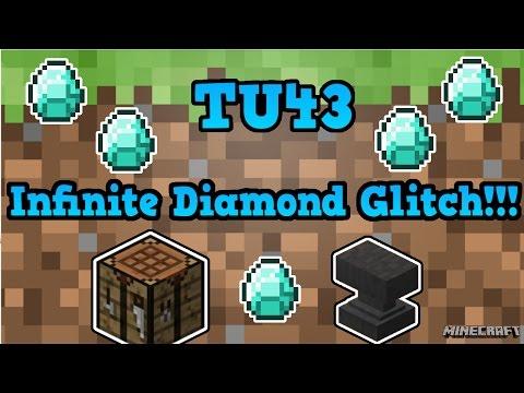 Infinite Diamond Glitch! | TU43 Infinite Diamond Emerald Gold & Iron Glitch