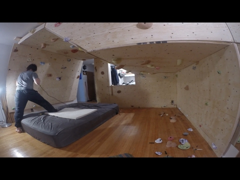 How To Build A Bouldering Wall In Your Home