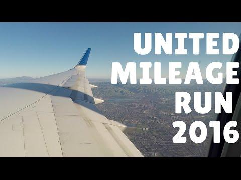 United Mileage Run 2016