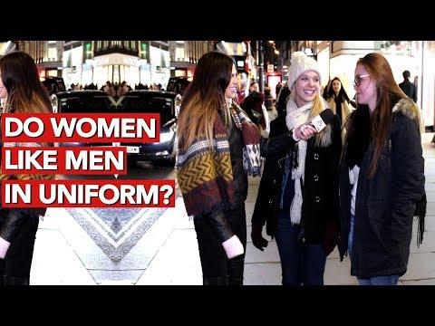 Do women like men in uniform?