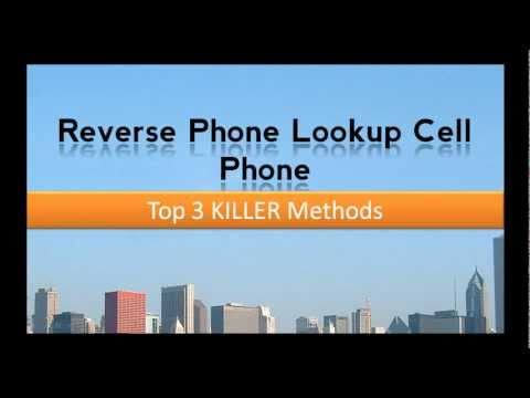 Reverse Phone Lookup Cell Phone - The Best 3 Methods