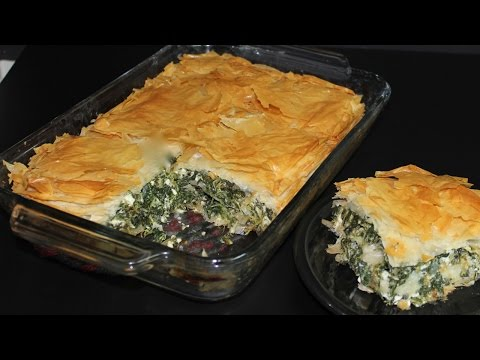 Spinach Pie with Michael's Home Cooking