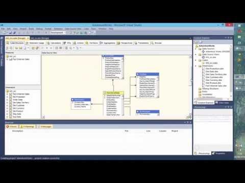 Creating Olap Cube SQL server BI
