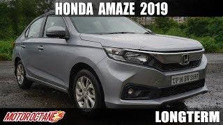 1500km Honda Amaze 2019 Review | Hindi | MotorOctane