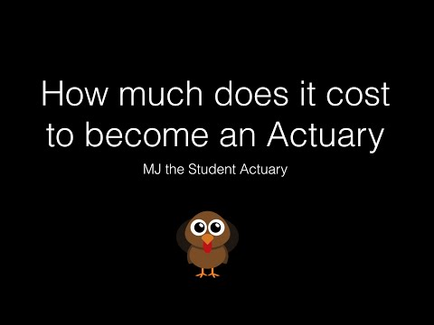 How Much Does It Cost To Become An Actuary