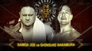 Samoa Joe and Shinsuke Nakamura