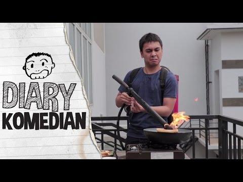 Diary Komedian - Tutorial Bakar Roti