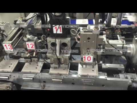 Electrical Five Pin Socket Full Automatic Assembly Line Made by Yicheng