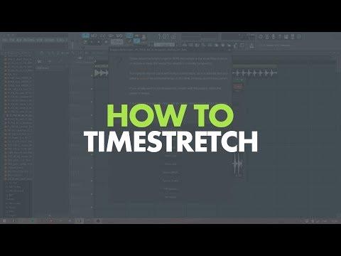 BEST WAYS TO TIMESTRETCH SAMPLES & LOOPS IN FL STUDIO 12