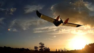 Arduplane auto-takeoff and auto-land test