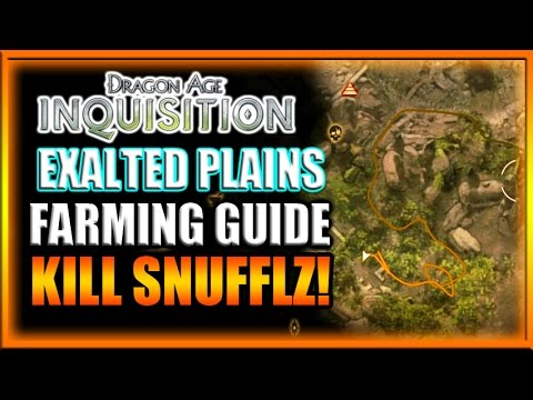 Dragon Age Inquisition - Crafting Material Farming Guide! #2 Exalted Plains