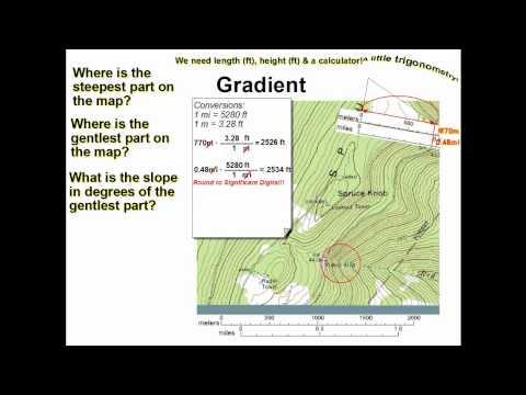 GEL1010 Topo Slope & Slope Angles