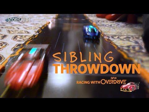 Sibling Throwdown: Racing with Anki Overdrive