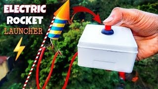 Electric Rocket Launcher - How To Make  || 100% Safe Diwali 2020