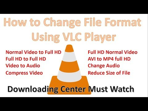 How to reduce size of your video using VLC Player, how to change video file format using vlc player.