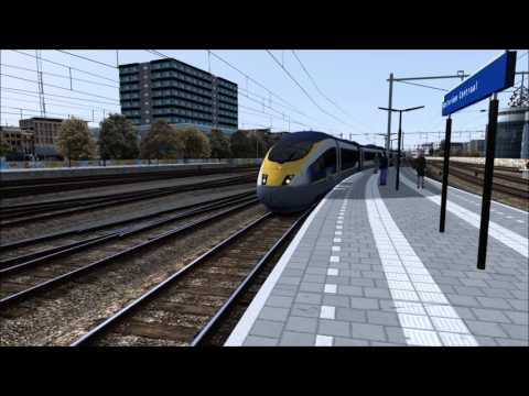 TS2017: Eurostar from London arriving in Amsterdam