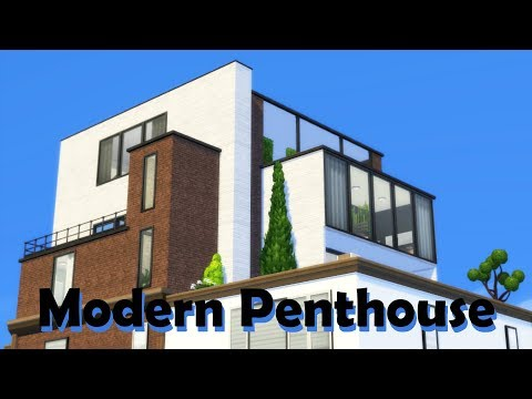 Sims 4 | House Building | Modern Penthouse