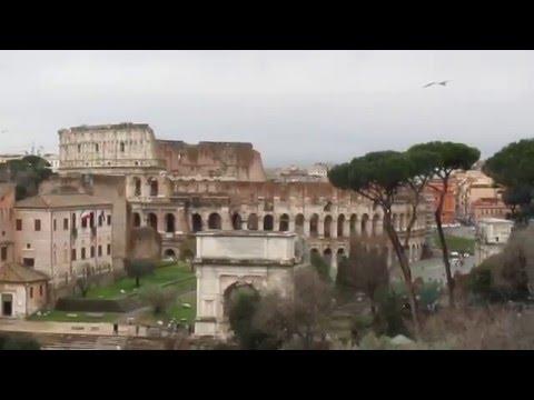 The Roman Forum - Ancient Roman ruins in Rome