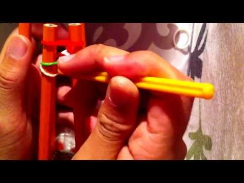 How to make a inverted fishtail rubber band bracelet