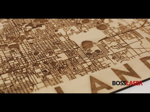 How To Laser Engrave Your City Street Map on Wood - Download