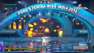 Ponds Femina Miss India 2013 Sonu Nigam  Performance