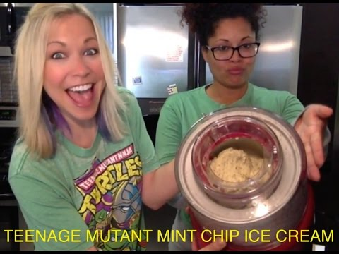 Teenage Mutant Ninja Ice Cream, Gluten & Sugar Free & Vegan