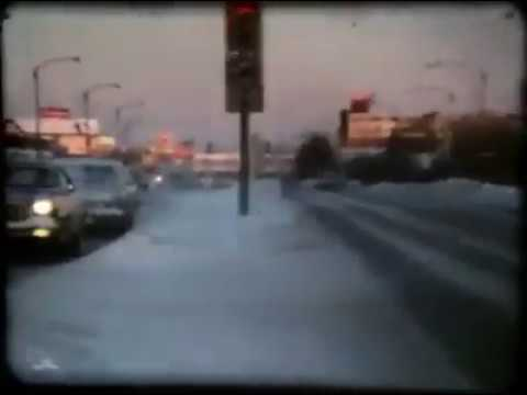 Vintage 1979 video of Portage Ave. in WINNIPEG, MB.
