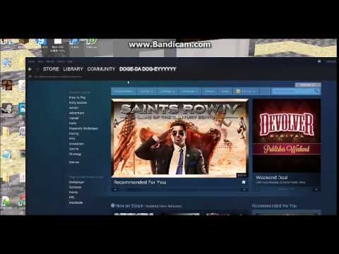 How to change your steam profile name