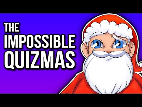 THE IMPOSSIBLE QUIZMAS! | Christmas Impossible Quiz