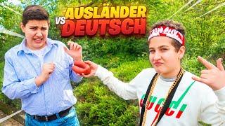 AUSLÄNDER vs DEUTSCHE 🧕 🤷 (typisch DEUTSCH TÜRKISCH) inkl. OUTTAKES 😂 | CRASHBROS2