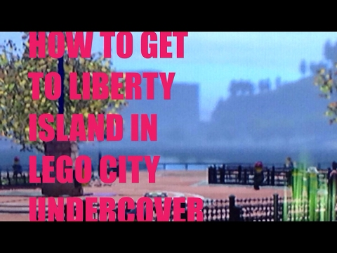 How to get to liberty island in Lego city undercover