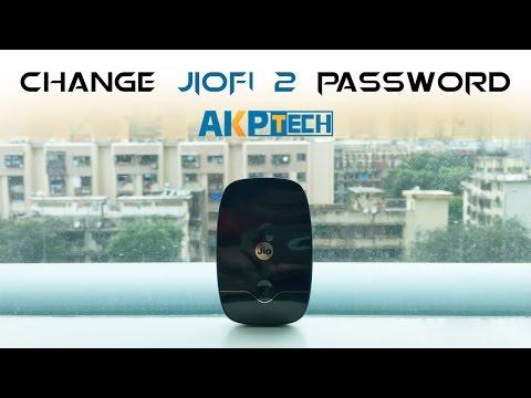 Jiofi 2 How to change Password Of Router | JIO 4G Jiofi 2