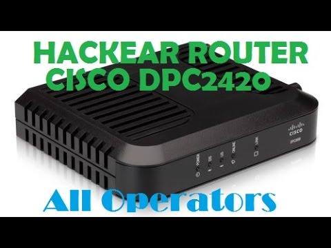Hackear Roouter Cisco DPC2420/Desbloquear Opciones Avanzadas/