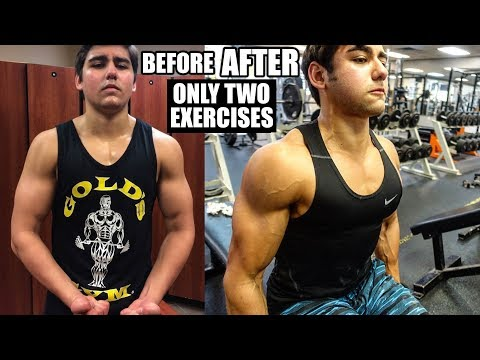 How To Get Big Shoulders Fast With Only 2 Exercises