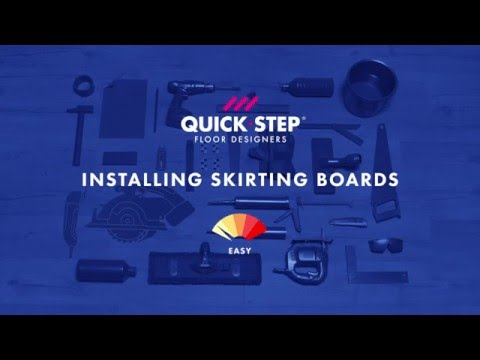 How to install skirting boards on your floor | Tutorial by Quick-Step
