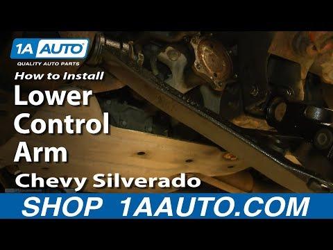 How To Install Replace Lower Control Arm 2000-06 Chevy Silverado Suburban GMC Sierra Yukon