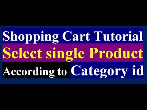 How To Select Single Product After Click On View Details | Online Shop | PHP MySQL Tutorial | Part 5