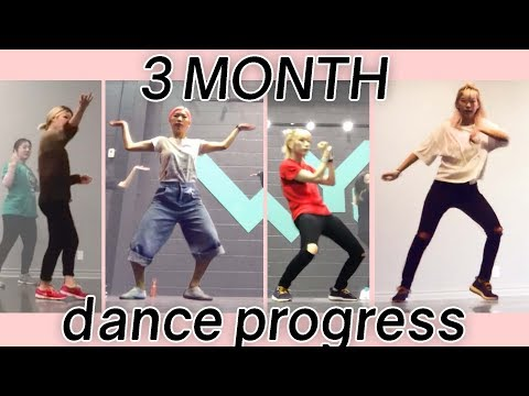 3 Months Learning Dance (hip hop) PROGRESS REPORT