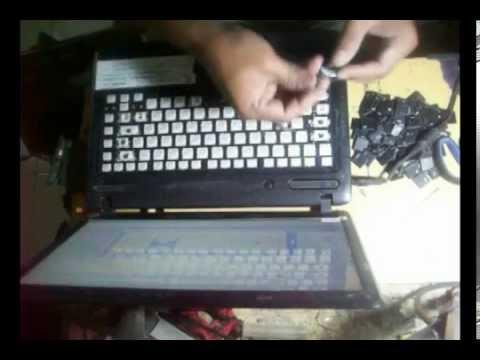 Laptop Keyboard Repair, Toshiba c640