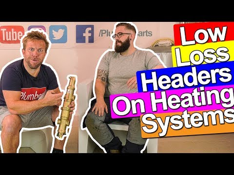 LOW LOSS HEADERS ON HEATING SYSTEMS