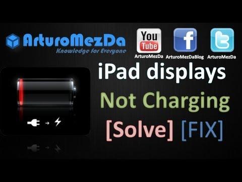 ▶ iPad displays - Not Charging [Solve] [FIX]