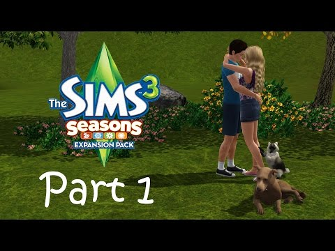 Let's Play the Sims 3: Seasons (Part 1) - Starting a Garden