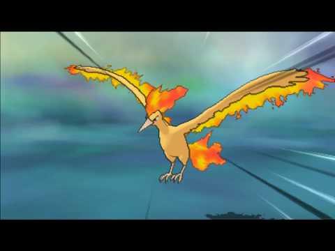 Pokemon Ultra Sun & Ultra Moon : Capturing Moltres