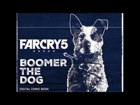 Far Cry 5 Comic Boomer The Dog