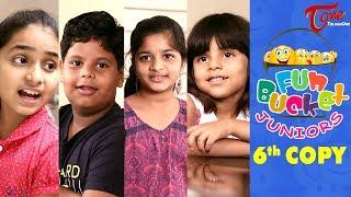 Fun Bucket JUNIORS | Kids Jokes | Episode 6 | Kids Funny Videos | Comedy Web Series